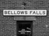 Train Station (detail), Bellows Falls, VT