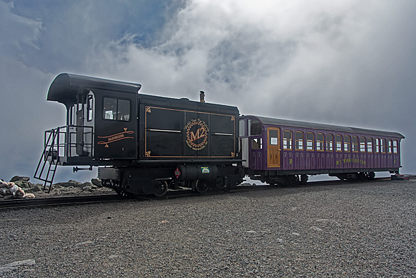 Cog Rail Train, Mount Washington #1