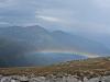 Rainbow in Burt's Ravine, Mount Washington