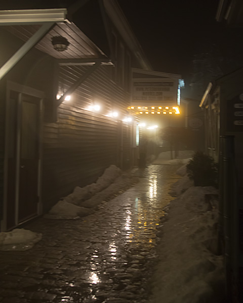 Movie Theater Alley Way