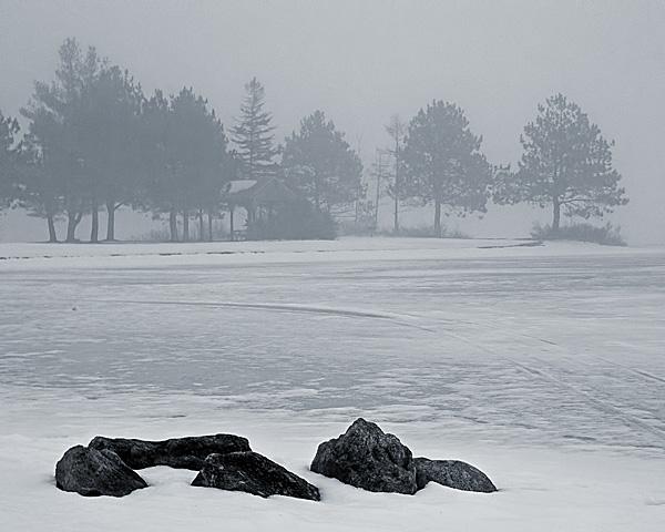 Gregg Lake Fog #2