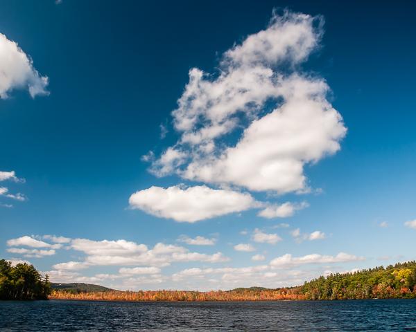 Gile Pond (N. Sutton, NH) - 1:30 PM