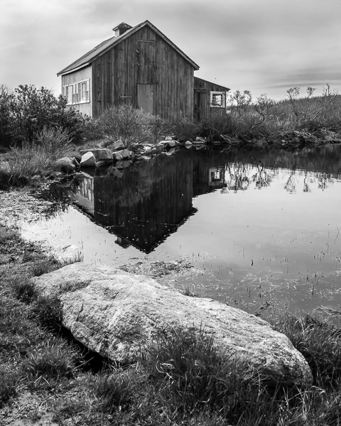Art Barn Reflection #1