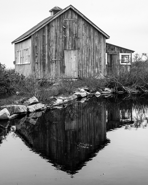 Art Barn Reflection #2