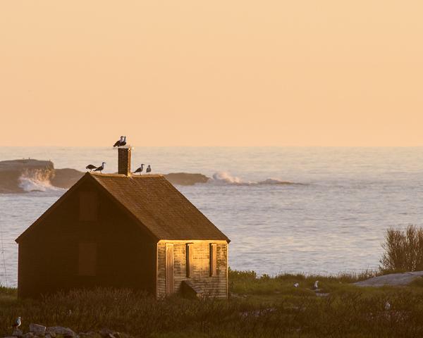 Sunrise, Smuttynose Island