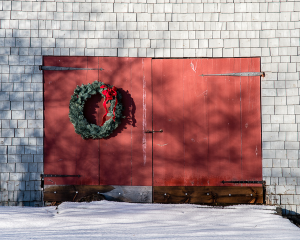 Door with Wreath #5