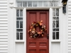 Door with Wreath #1
