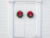 Door with Wreath #3