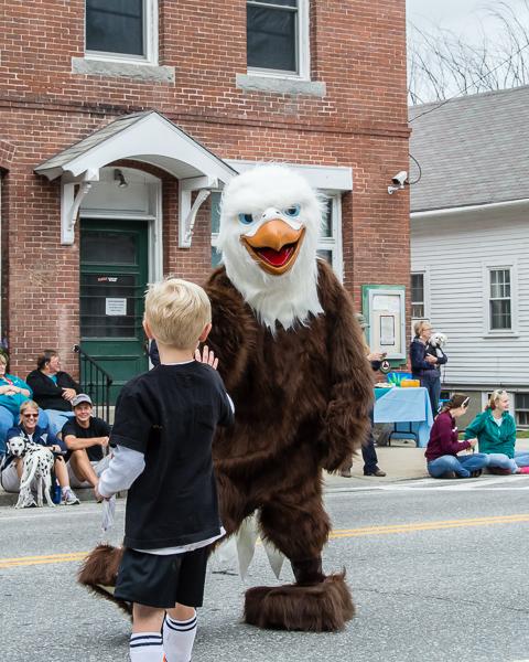 Antrim Elementary School Mascot & Friend