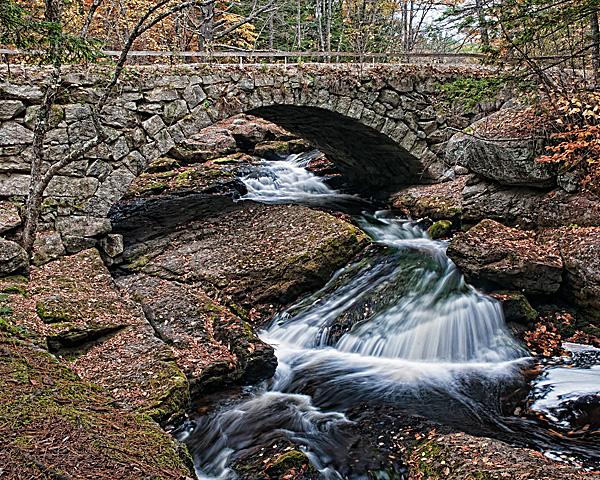Gleason Falls Bridge from Downstream