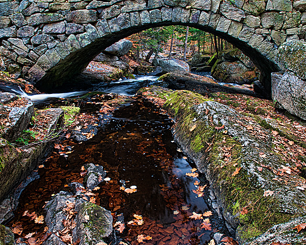 Gleason Falls Bridge from Upstream