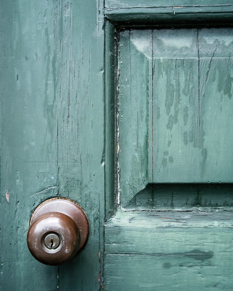 Green Door (detail)