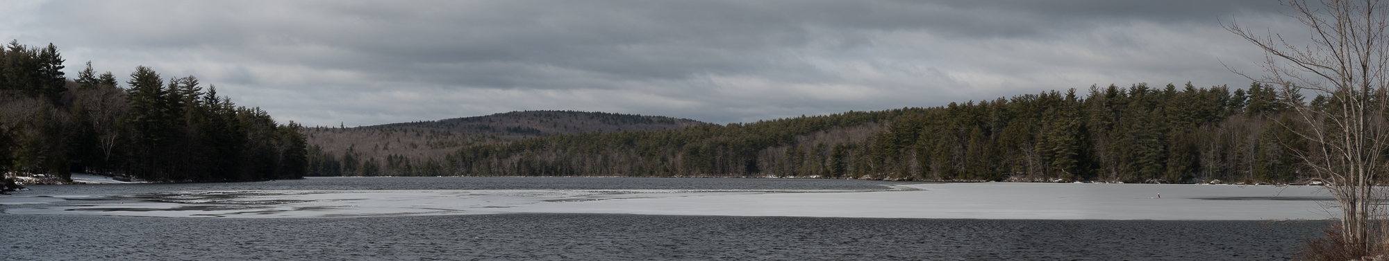 Gregg Lake Panorama(18 April 2018, 5 frames))