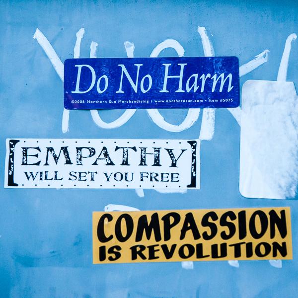 Harm-Empathy-Compassion