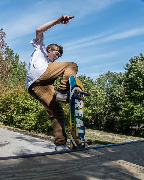 Skateboarder #1