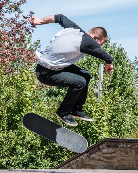 Skateboarder #2