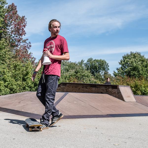Skateboarder #4