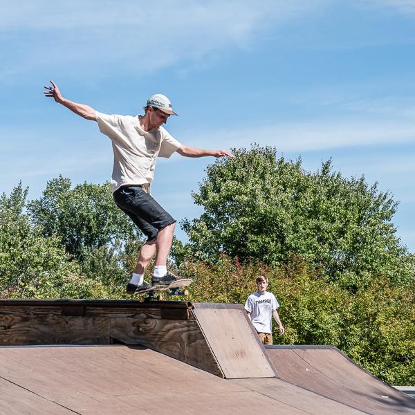 Skateboarder #5