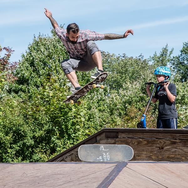 Skateboarder #9