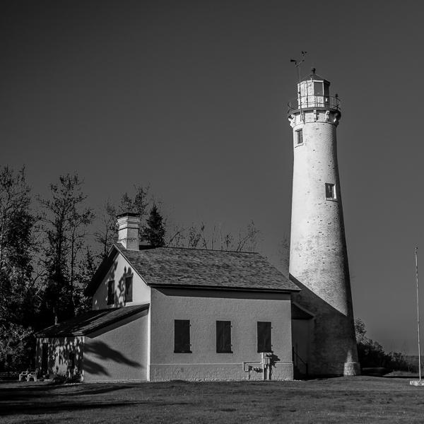New Presque Isle Light, Lake Huron, (MI)
