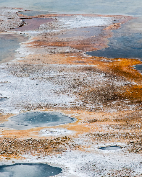 Geothermal Pools/Microbial Mat