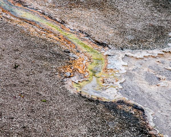 Geothermal Pool Outflow