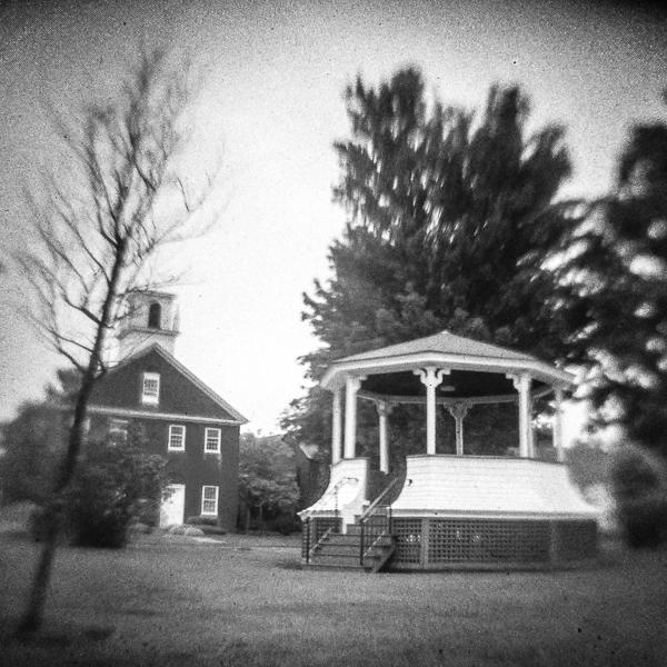 Bandstand  & Vestry (Hancock, NH)