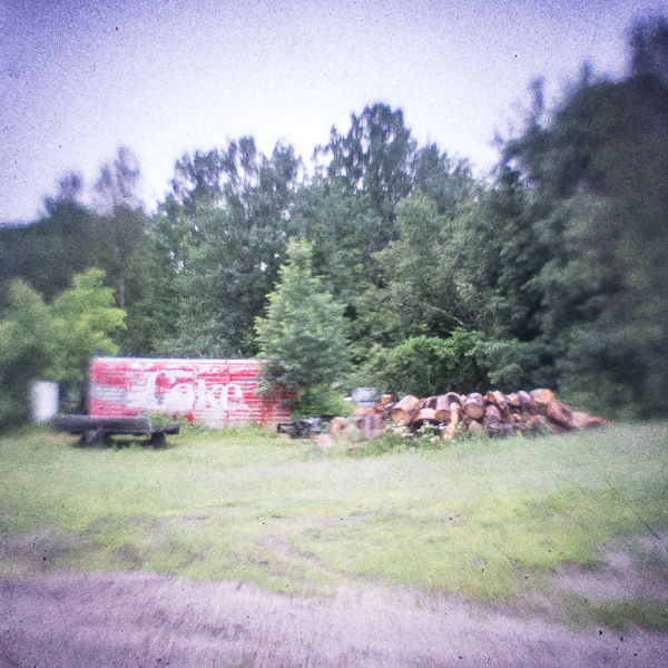 Coke & Wood Pile