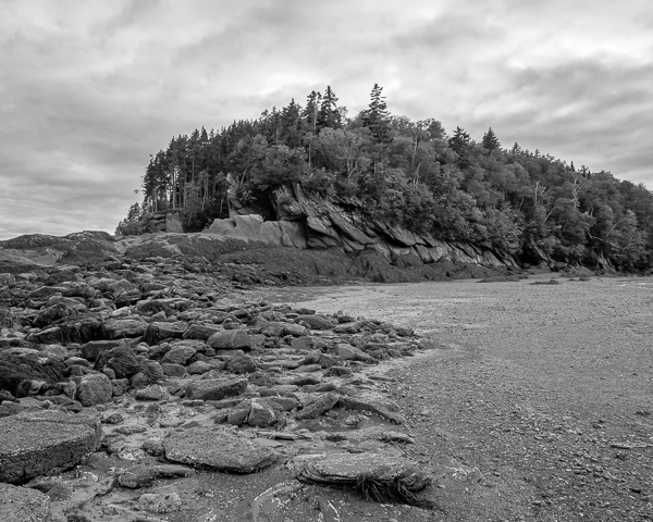 Pointe Wolfe Beach, Bay of Fundy NP, NB