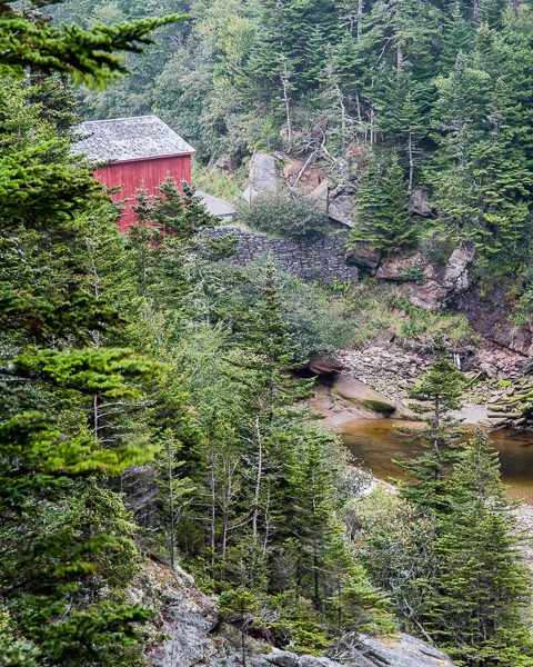 Pointe Wolfe Covered Bridge, Bay of Fundy NP, NB