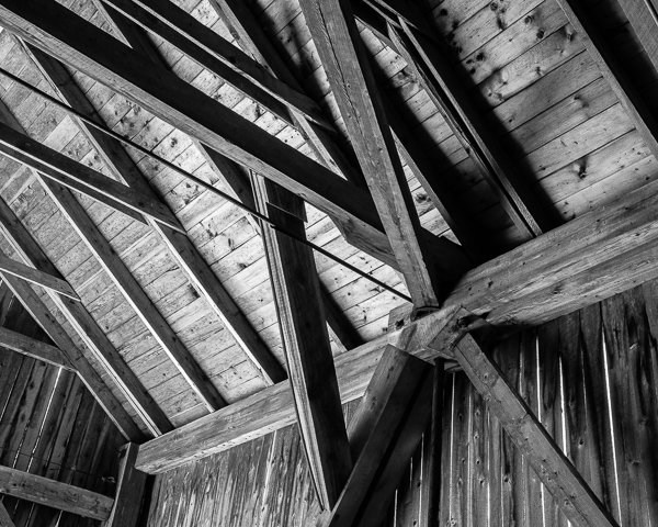 Covered Bridge Interior (detail)