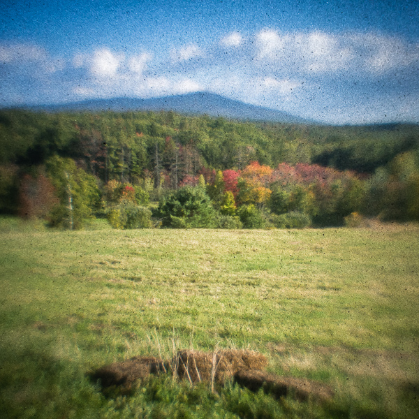Mount Monadnock - Early Foliage (with the camera obscura)