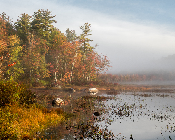 Gregg Lake: Early Morning, Early October #1
