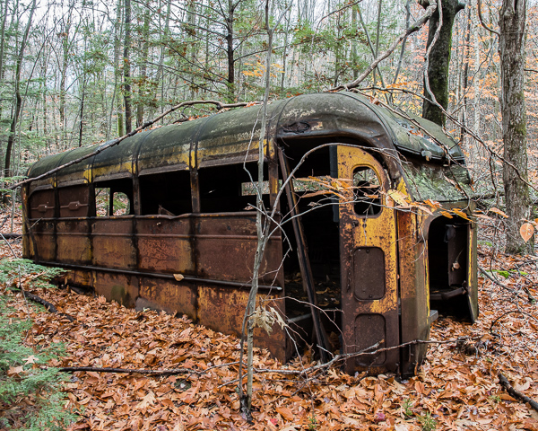 Ye Olde School Bus