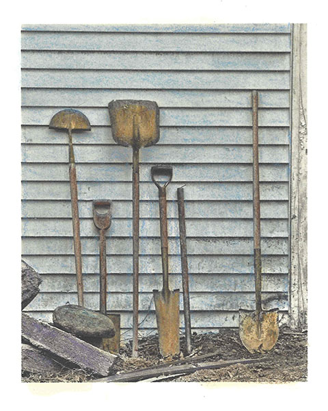 Shovels ( But No Rakes or Other Implements of Destruction)
