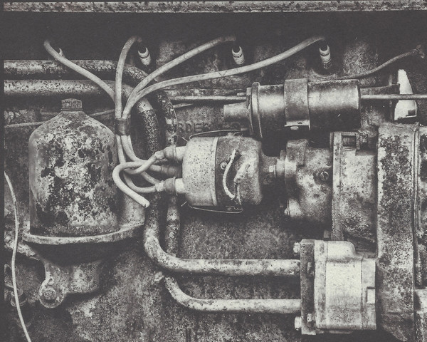 Tractor Engine Detail