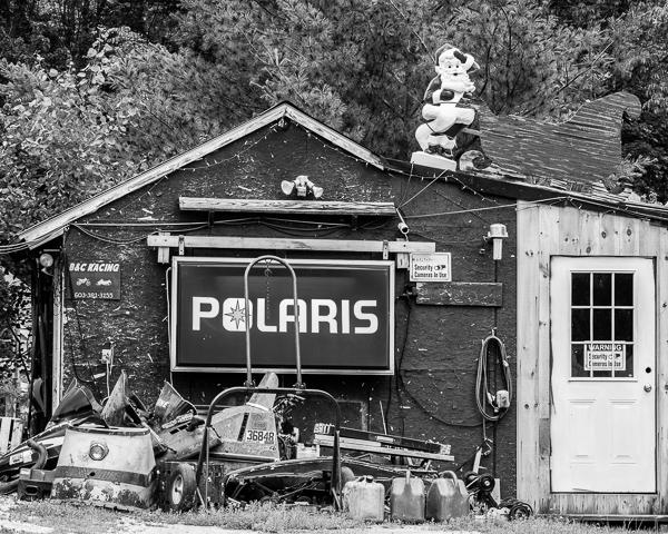 Polaris and Santa (Unity, NH)