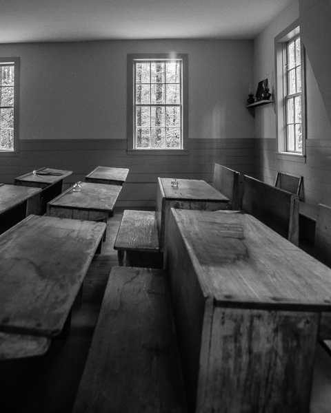 Schoolhouse Interior (Lempster, NH)