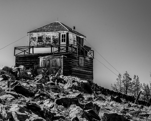 Untitled #19 (Blue Nose Fire Lookout)