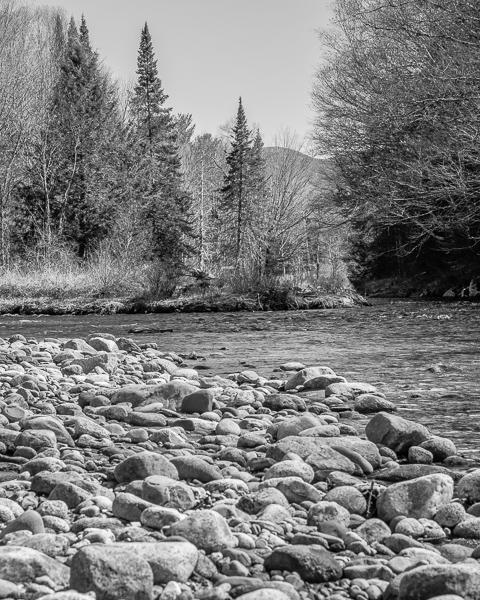 Baker River in Franconia, NH