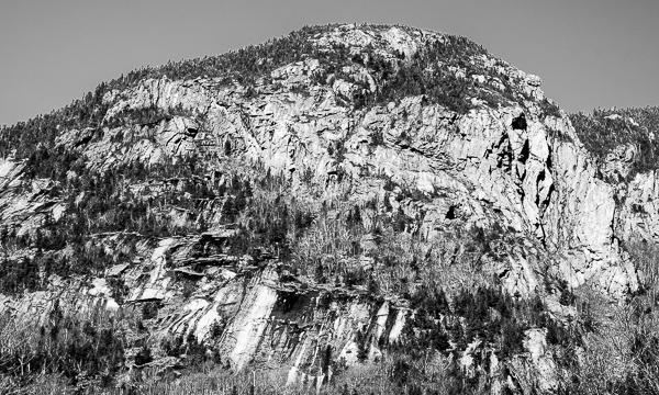 Franconia Notch Ridge Line (east side, detail)