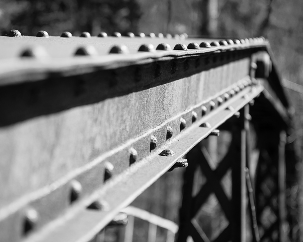 Iron Bridge Franconia, NH)