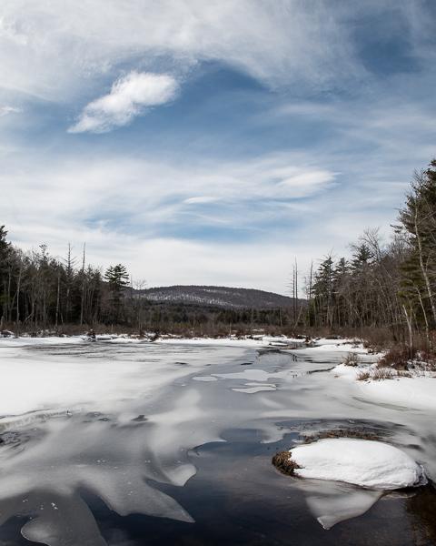 Gregg Lake in March