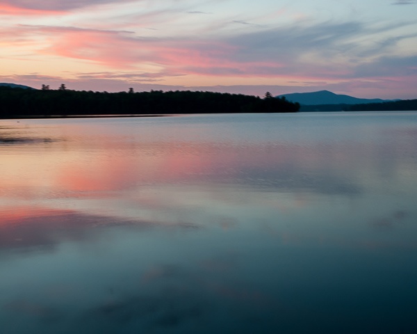 Lake Umbagog at Sunset #1
