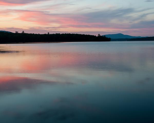 Lake Umbagog at Sunset #1