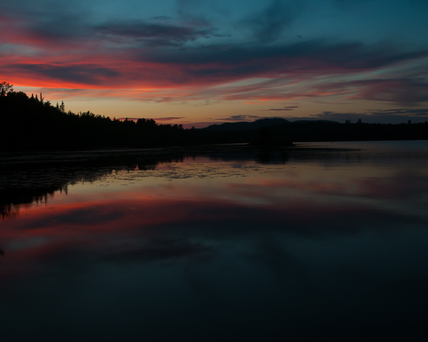 Lake Umbagog at Sunset #2