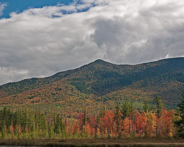 Mount Martha (east flank) from Cherry Pond