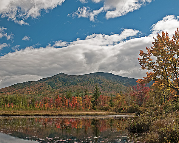 Mount Martha (Cherry Mountain) from Cherry Pond
