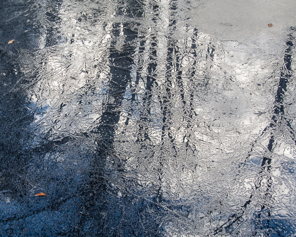 Puddle of Sky (the frozen version) #1