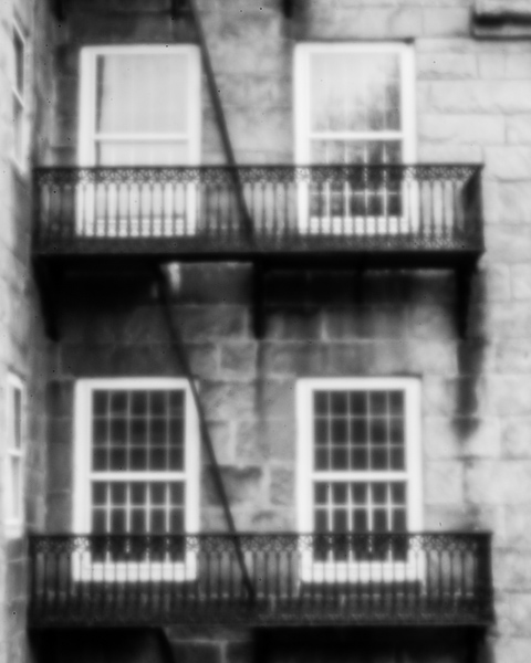 Harrisville Mill Detail #2 (pinhole photo)